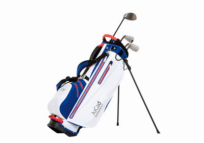 The bag 2 in 1 Waterproof can be also used conveniently as a cart bag due to its innovative unfolding mechanism.
