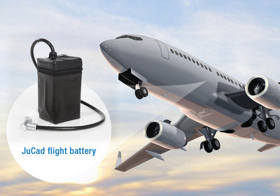 JuCad flight battery set