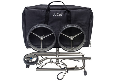 JuCad Edition and its robust carry bag.