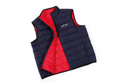 JuCad quilted waistcoat