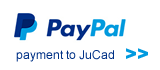 PayPal payment to JuCad
