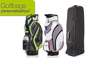 JuCad golf bags and travelcover