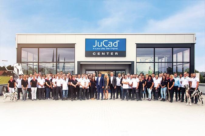 JuCad - Das Unternehmen - Offizielle Webseite. Golf Trolleys ...