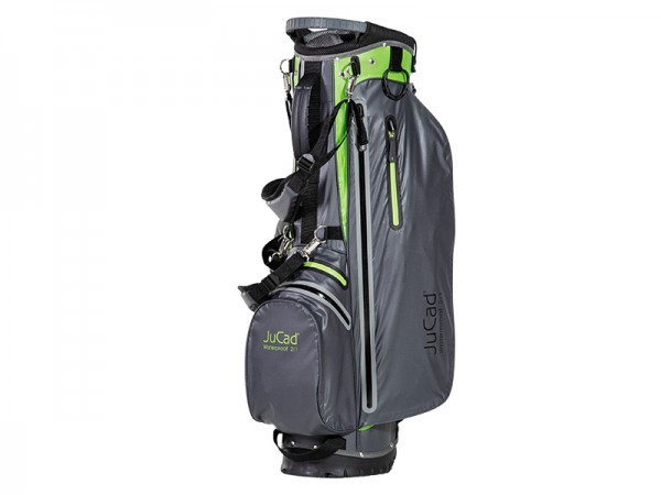 Sac JuCad 2 en 1 Waterproof, gris-vert