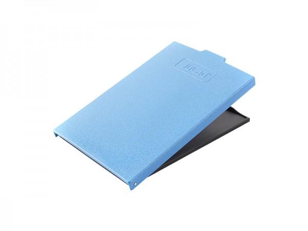 Couvercle de porte-carte JuCad, bleu