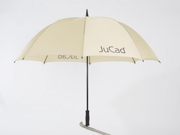 JuCad telescopic umbrella beige