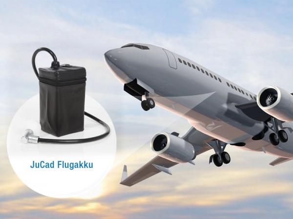 Batterie JuCad pour les voyages en avion