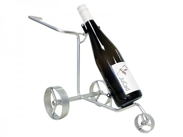 JuCad miniature trolley – wine bottle holder