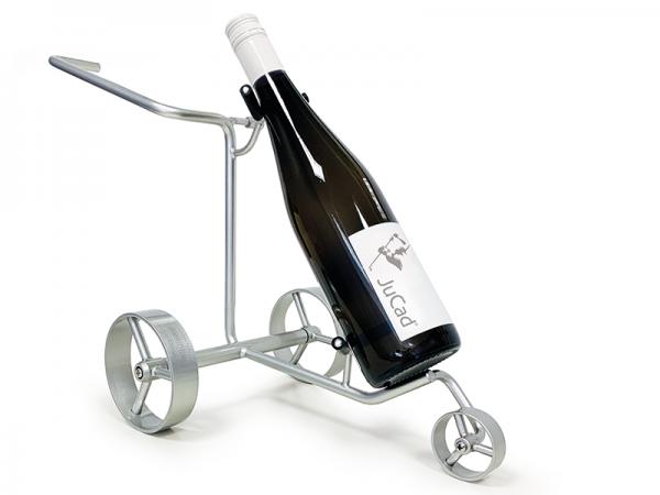 JuCad Miniatur Caddy – Weinflaschenhalter