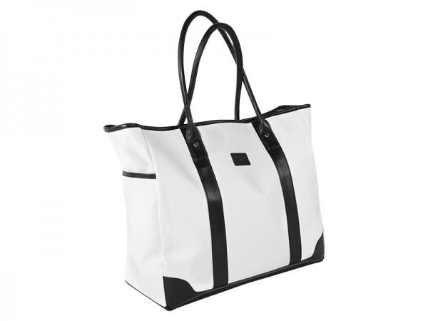 JuCad shoulder bag Sydney black-white