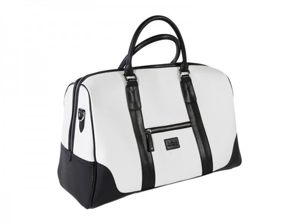 JuCad travel bag Sydney black-white