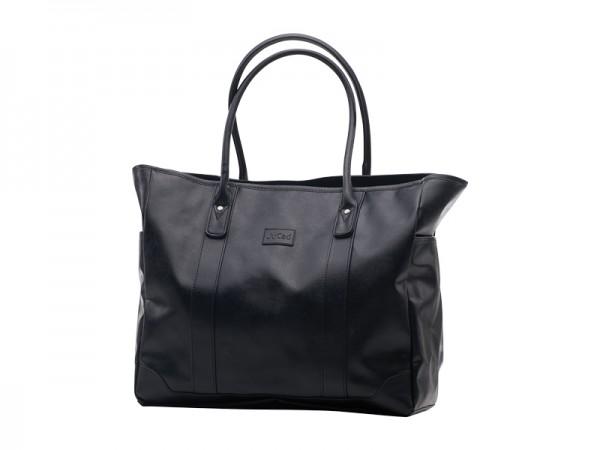 JuCad shoulder bag Sydney black-brown