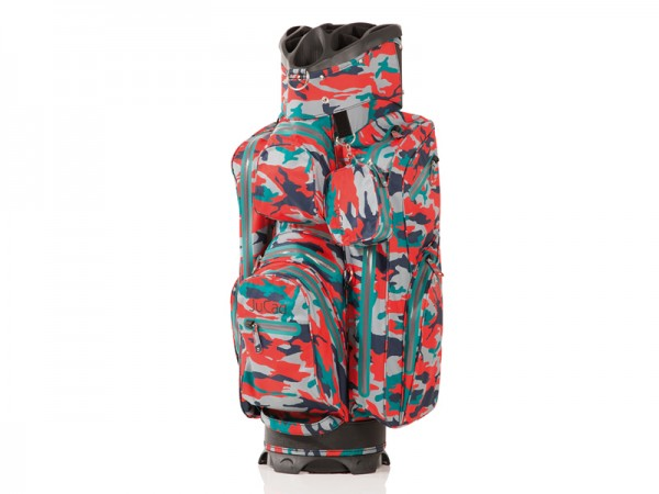JuCad Bag Aquastop camouflage-rot