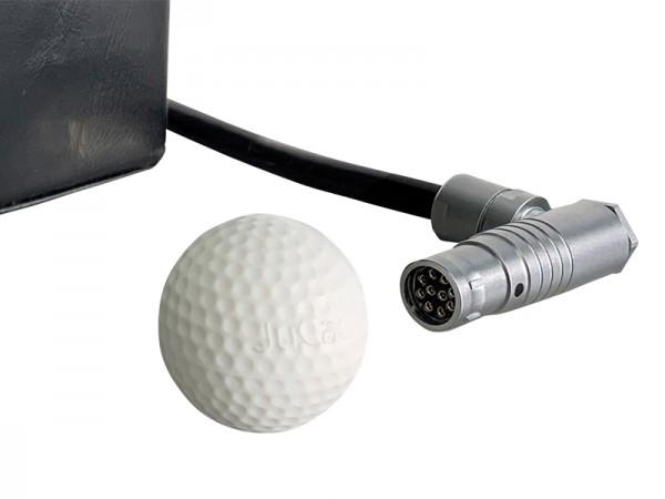 Balle de protection pour batterie JuCad avec connecteur standard (forme ronde)